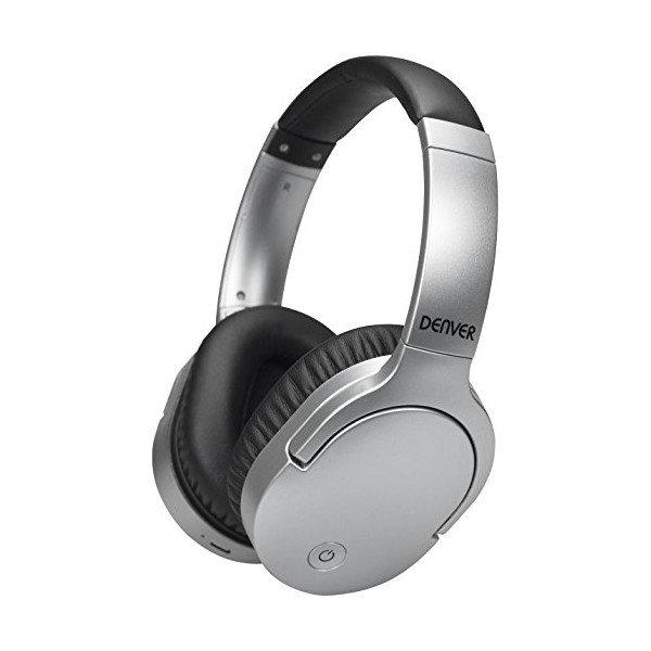 Image of   Denver - Trådløs Bluetooth Hovedtelefoner - Bth-207 - Sølv