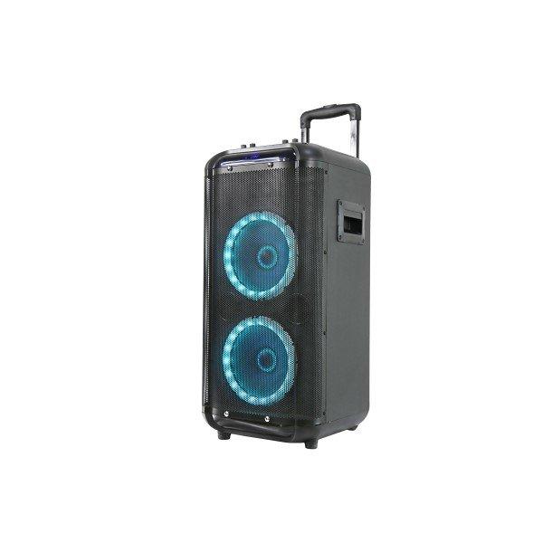 Denver Tsp-450 – Trådløs Bluetooth Højtaler Trolley Med Lys