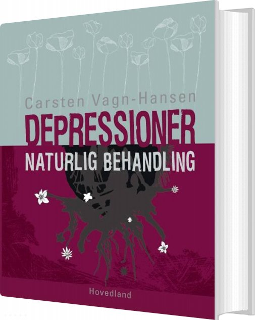 Image of   Depressioner - Naturlig Behandling - Carsten Vagn-hansen - Bog