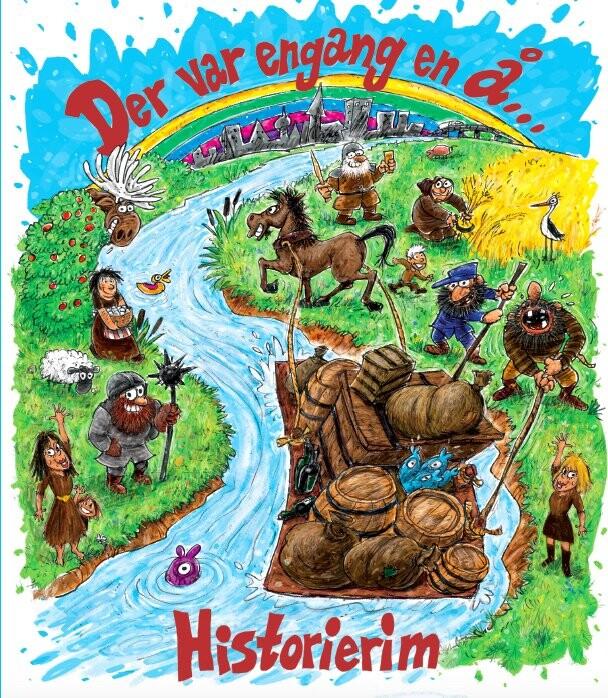 Der Var Engang En å - Historierim - Mikkel Nordin Frost - Bog