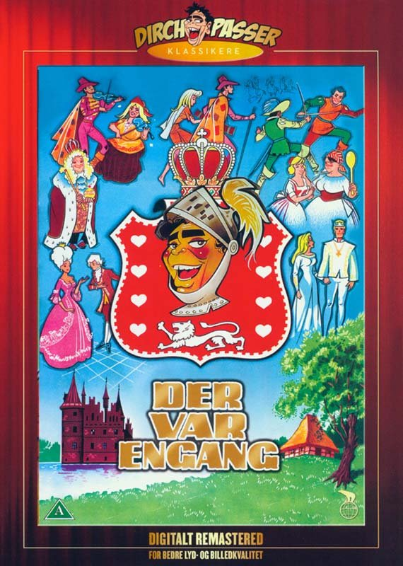 Image of   Der Var Engang - DVD - Film