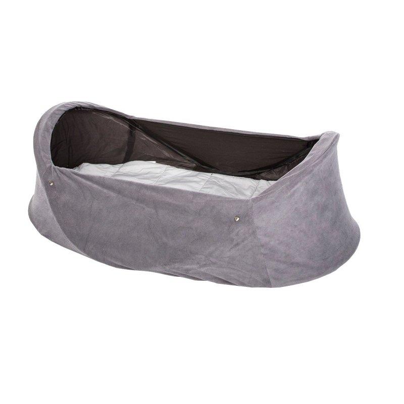 Deryan Babybox / Rejseseng Til Baby - Grå