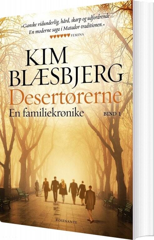 Desertørerne 1 - Kim Blæsbjerg - Bog