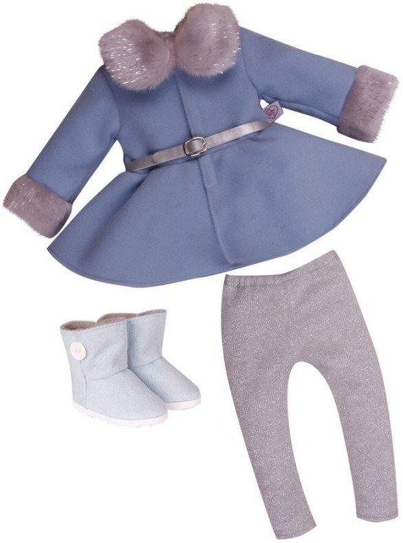 9a9201dd1d7 Er det vinter, og skal din dukke ud på eventyr, eller mangler hun noget  nuttede overtøj? I begge tilfælde, kan dette Winter Wonderland outfit  benyttes.