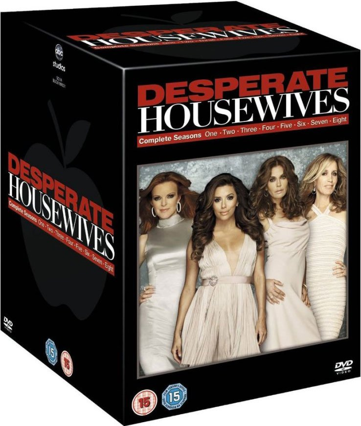 Image of   Desperate Housewives - Sæson 1-8 Box Set - DVD - Tv-serie