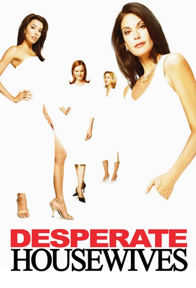 Image of   Desperate Housewives - Sæson 1 - DVD - Tv-serie