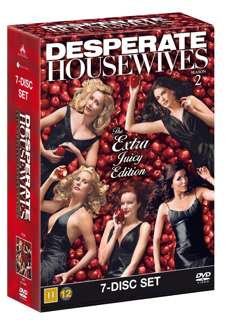 Image of   Desperate Housewives - Sæson 2 - DVD - Tv-serie