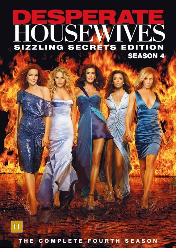 Image of   Desperate Housewives - Sæson 4 - Sizzling Secrets Edition - DVD - Tv-serie