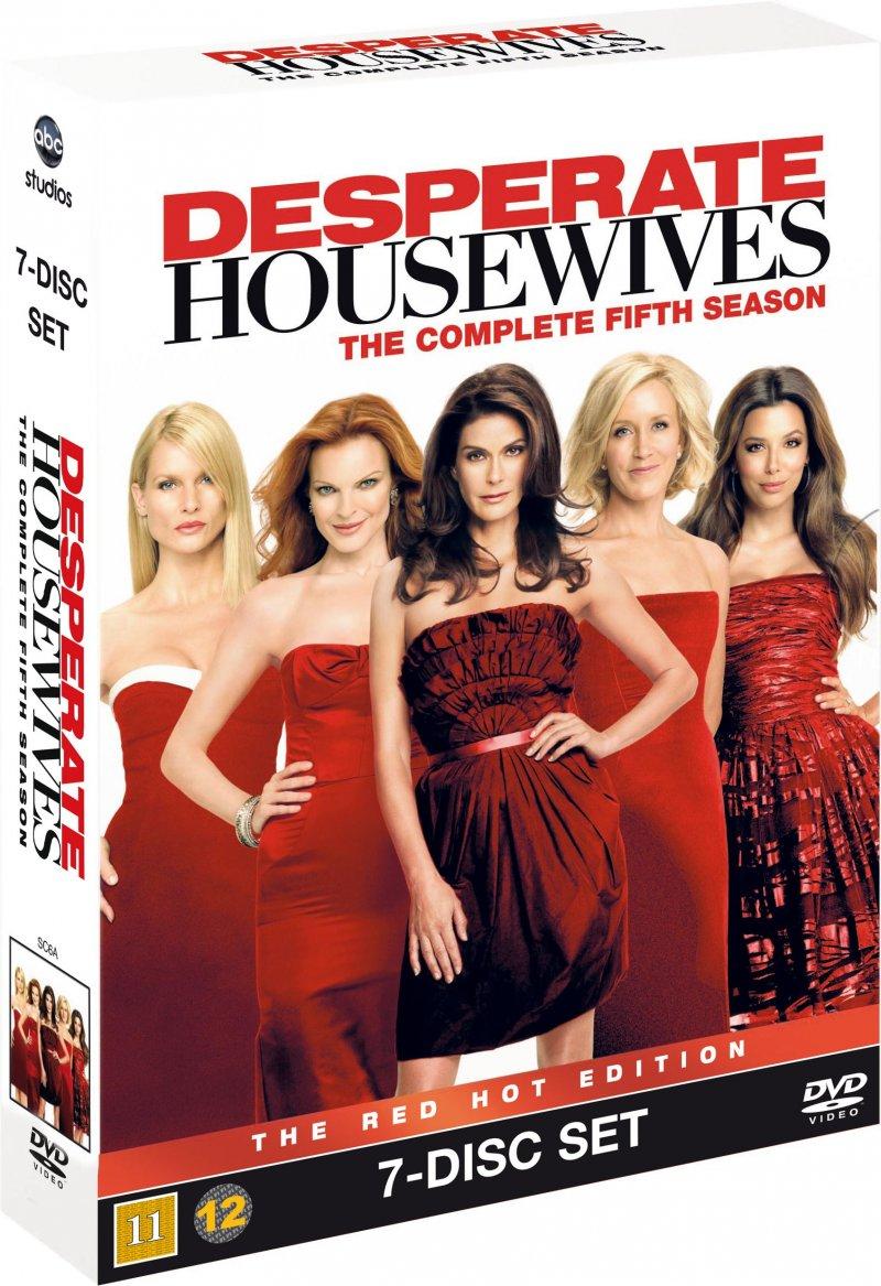 Image of   Desperate Housewives - Sæson 5 - DVD - Tv-serie