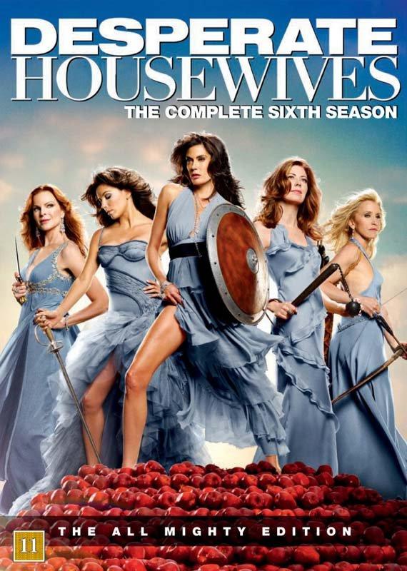 Image of   Desperate Housewives - Sæson 6 - DVD - Tv-serie