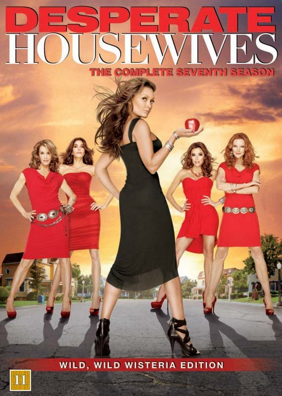 Image of   Desperate Housewives - Sæson 7 - DVD - Tv-serie