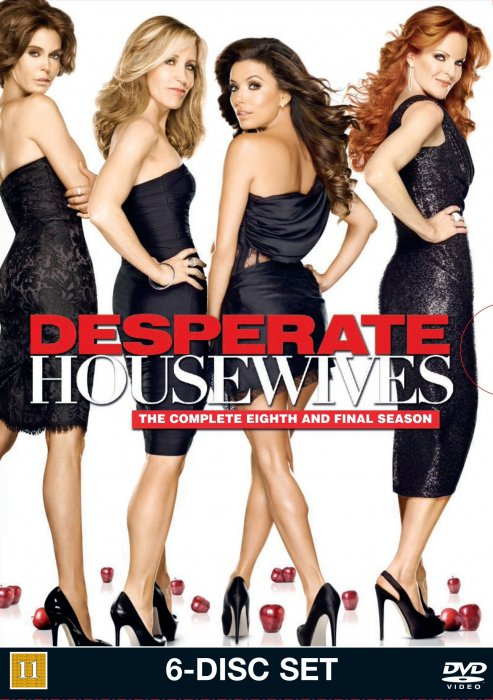 Image of   Desperate Housewives - Sæson 8 - DVD - Tv-serie