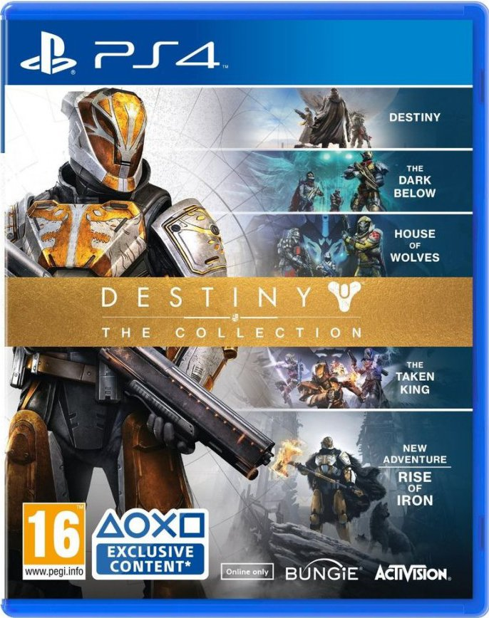 Image of   Destiny: The Collection - Dlc Expired - PS4