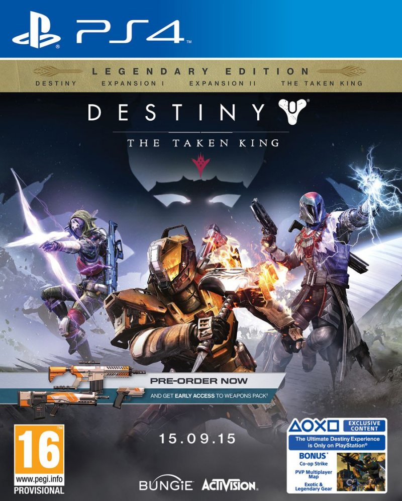 Image of   Destiny: The Taken King - Legendary Edition - PS4