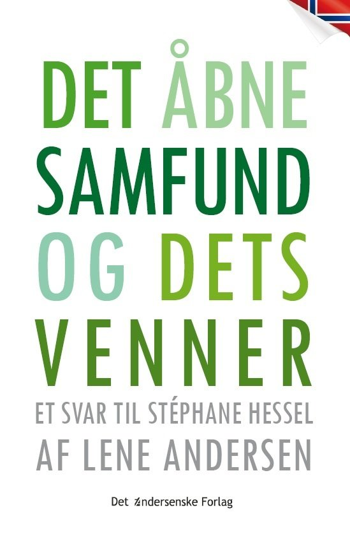 Det åbne Samfund Og Dets Venner - Lene Andersen - Bog