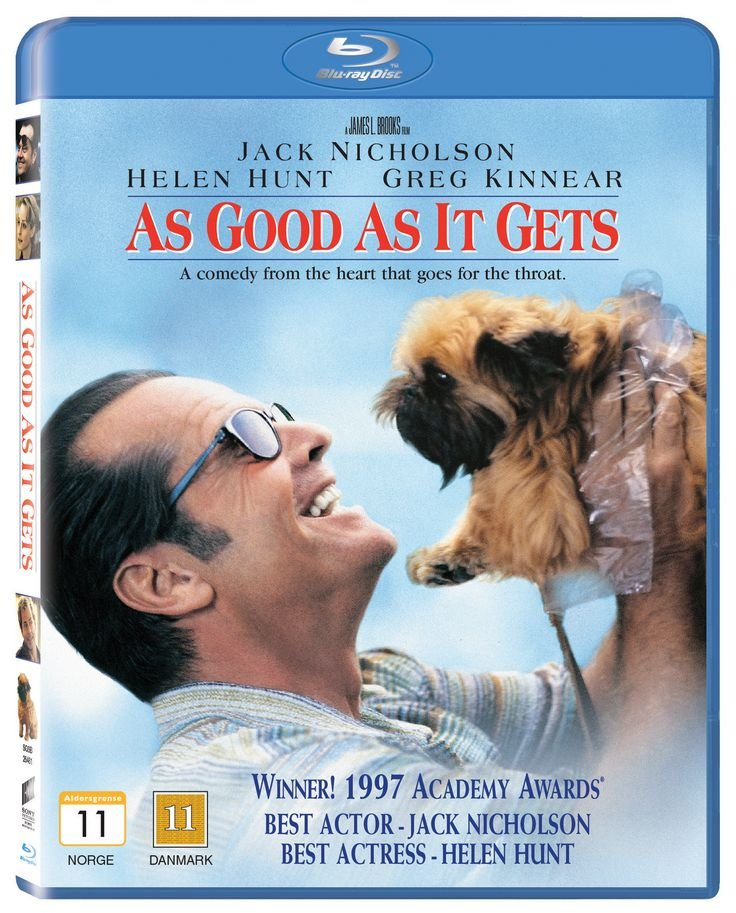 Image of   As Good As It Gets - Blu-Ray