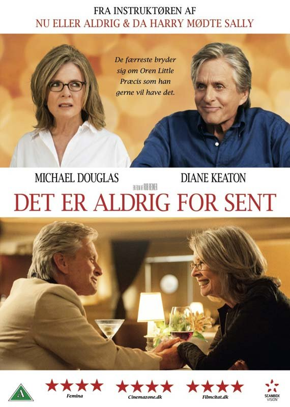Image of   And So It Goes / Det Er Aldrig For Sent - DVD - Film