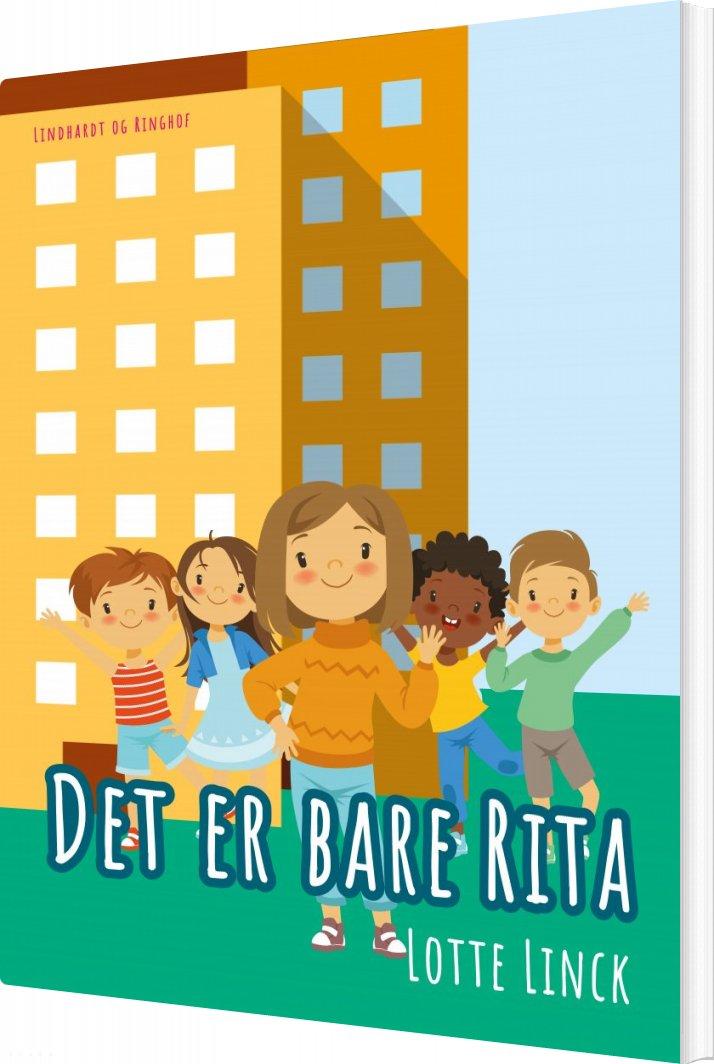 Det Er Bare Rita - Lotte Linck - Bog