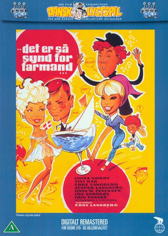 Image of   Det Er Så Synd For Farmand - DVD - Film