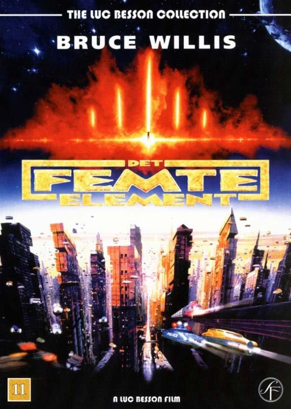 Image of   Det Femte Element / The Fifth Element - DVD - Film