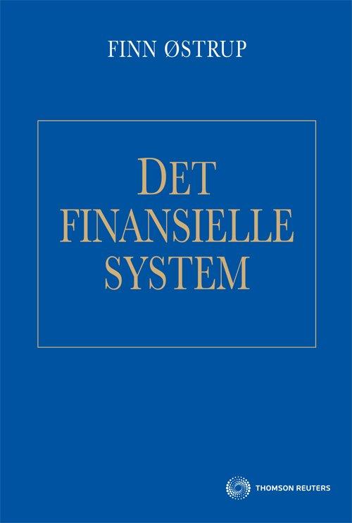 Det Finansielle System - Finn østrup - Bog