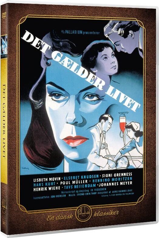 Image of   Det Gælder Livet - 1953 - DVD - Film