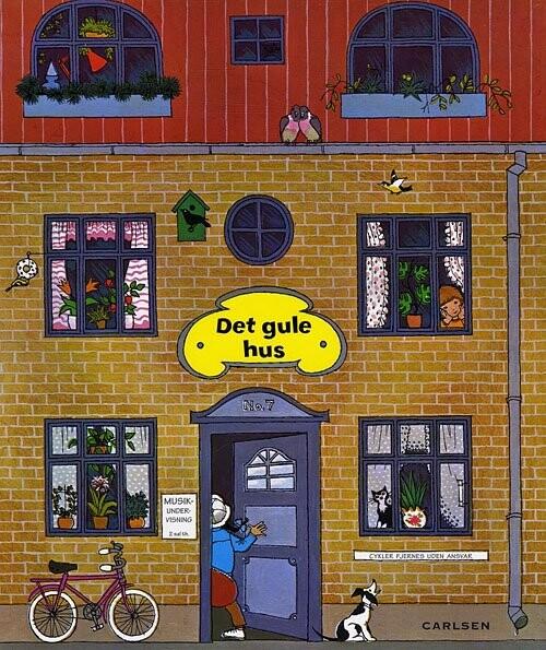 Image of   Det Gule Hus - Grete Janus Hertz - Bog