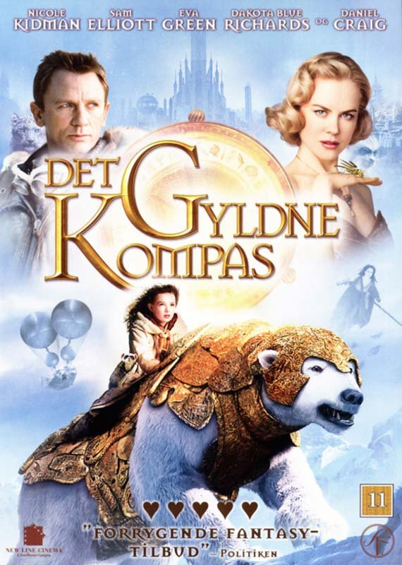 Image of   Det Gyldne Kompas / The Golden Compass - DVD - Film