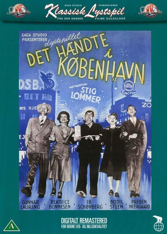 Image of   Det Hændte I København - DVD - Film