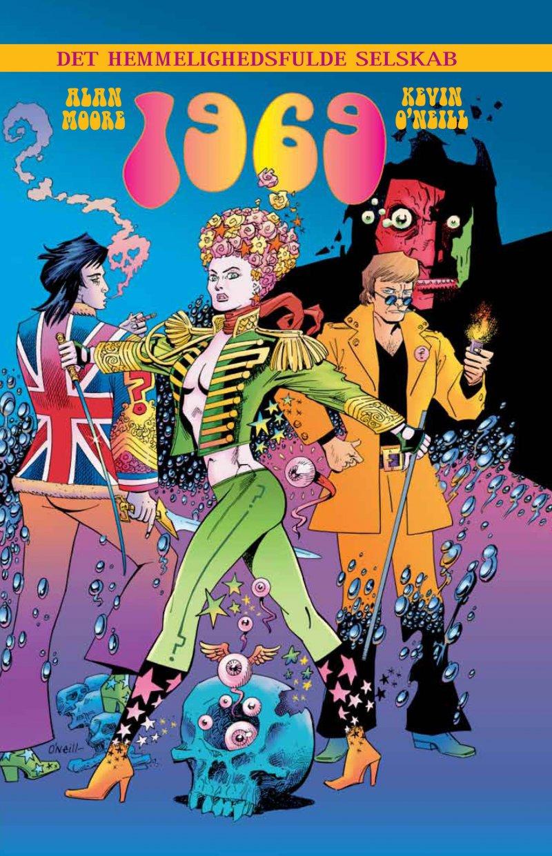 Billede af Det Hemmelighedsfulde Selskab 4 - Alan Moore - Tegneserie
