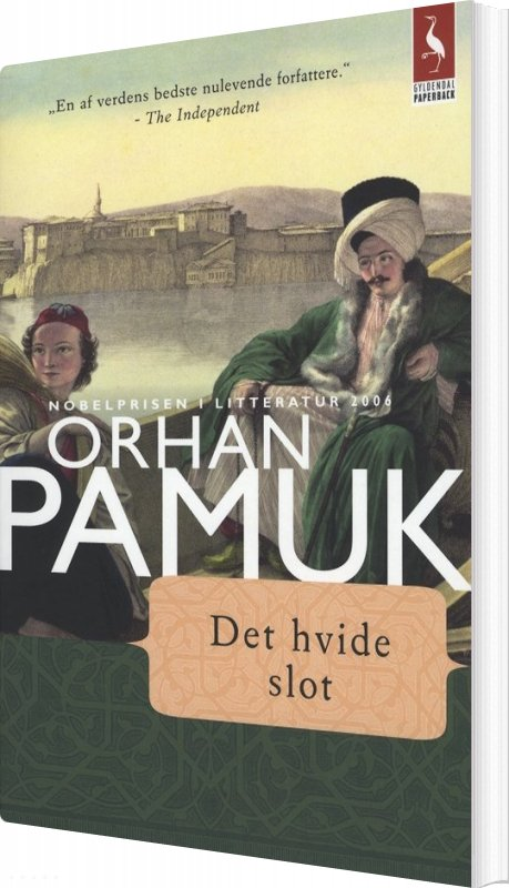 Image of   Det Hvide Slot - Orhan Pamuk - Bog