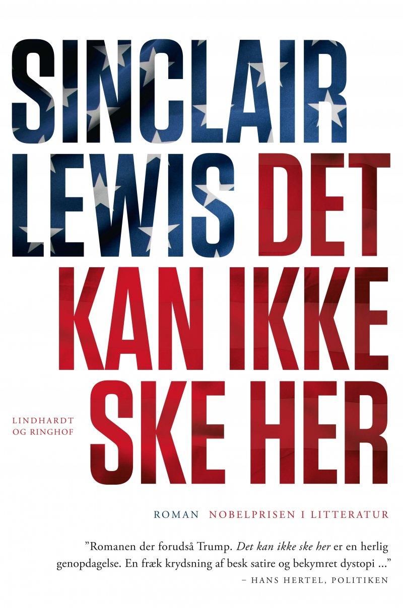 Image of   Det Kan Ikke Ske Her - Sinclair Lewis - Bog
