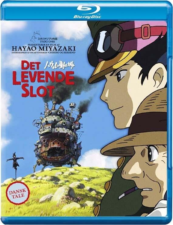 Image of   Det Levende Slot - Blu-Ray