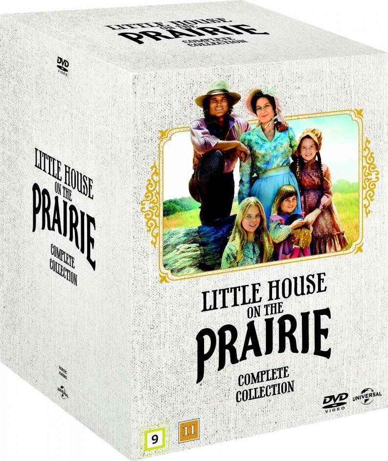 Det Lille Hus På Prærien / Little House On The Prairie Box - Sæson 1-9 + 4 Film - DVD - Tv-serie