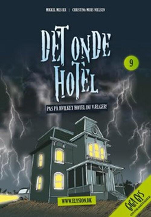Det Onde Hotel - Mikkel Messer - Bog