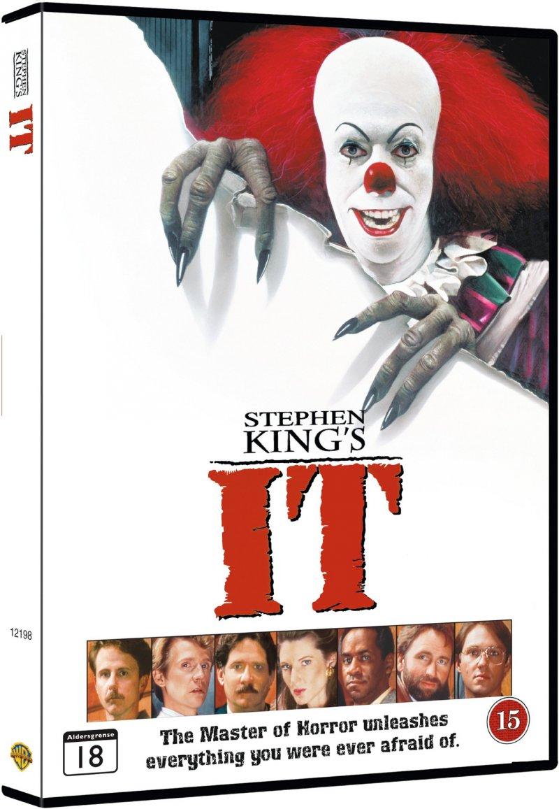 Image of   Det Onde / It - Stephen King 1990 - DVD - Film