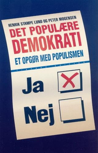 Det Populære Demokrati - Henrik Stampe Lund - Bog