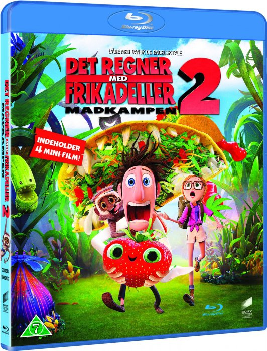 Image of   Det Regner Med Frikadeller 2 / Cloudy With A Chance Of Meatballs 2 - Blu-Ray