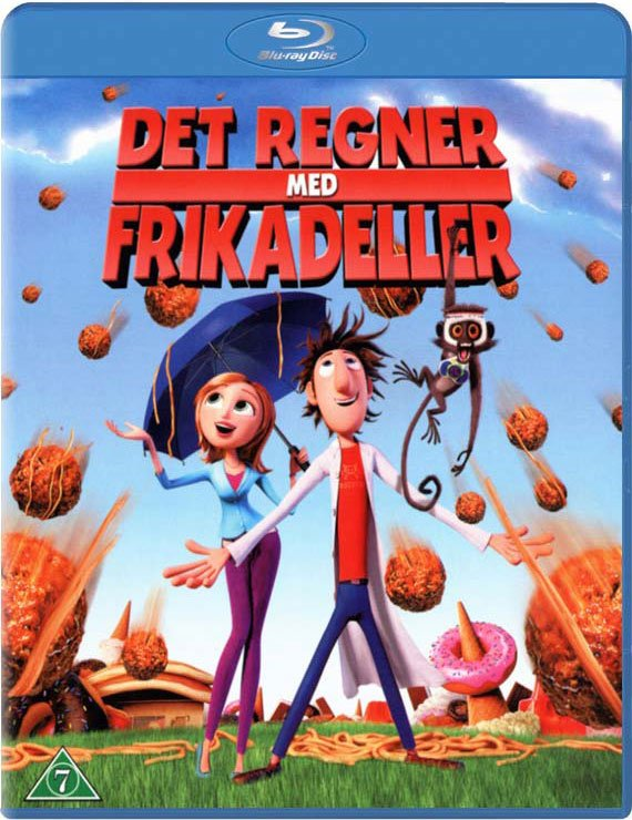 Image of   Det Regner Med Frikadeller / Cloudy With A Chance Of Meatballs - Blu-Ray