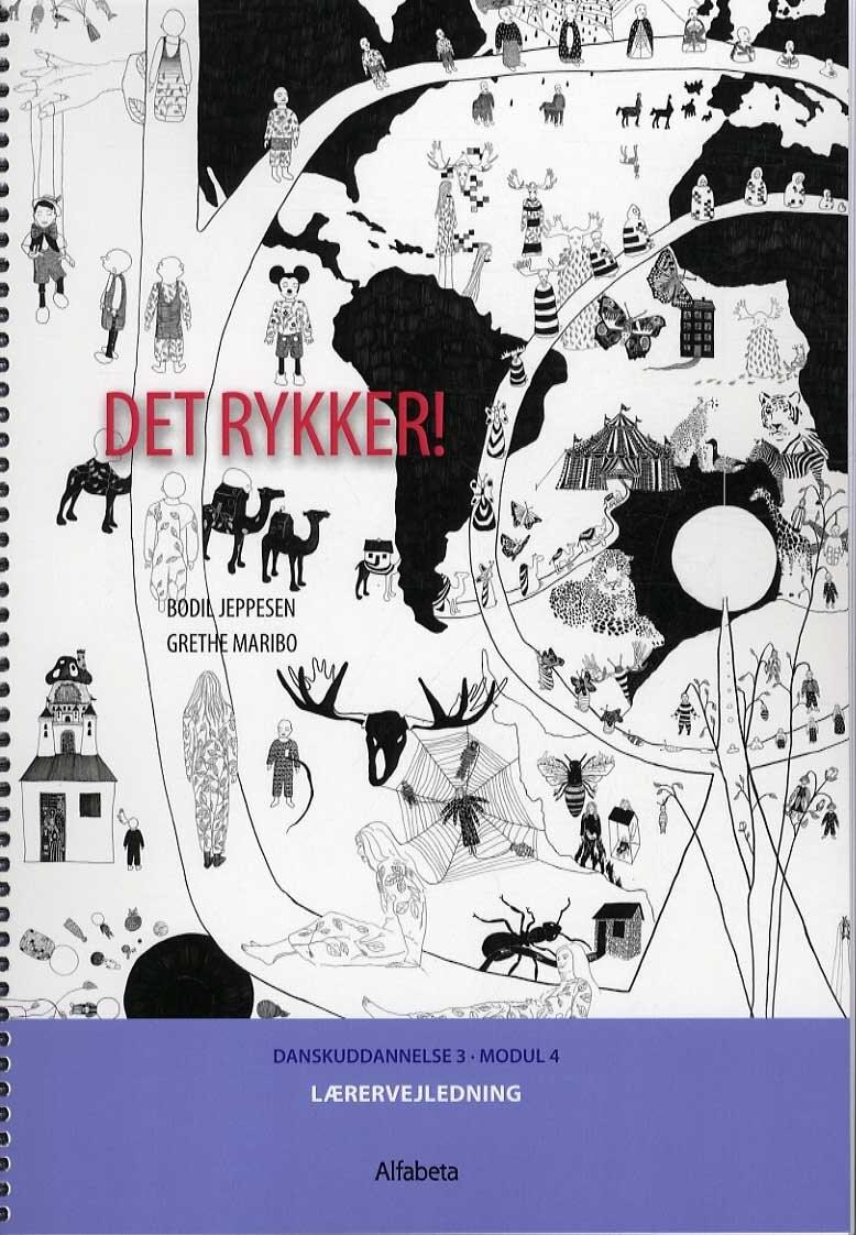 Image of   Det Rykker! Lærervejledning - Grethe Maribo - Bog