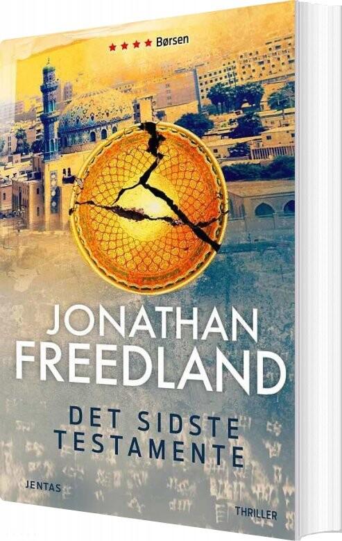 Image of   Det Sidste Testamente - Jonathan Freedland - Bog