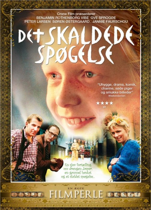 Image of   Det Skaldede Spøgelse - DVD - Film