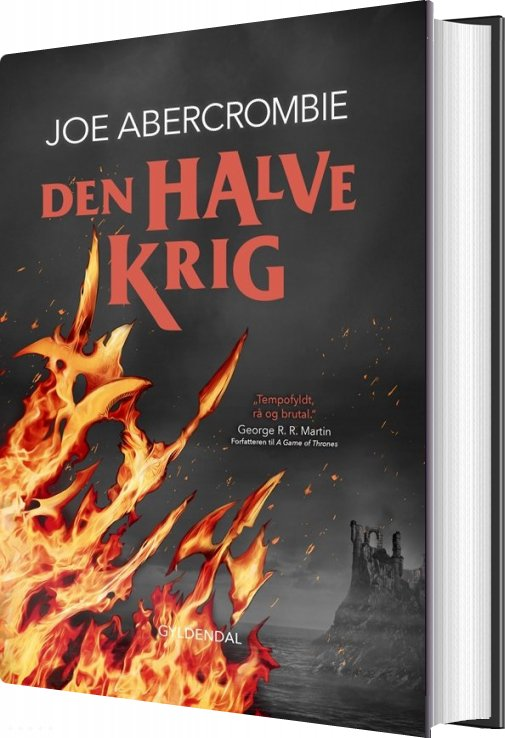 Det Splintrede Hav 3 - Den Halve Krig - Joe Abercrombie - Bog