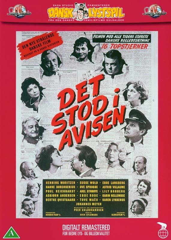 Image of   Det Stod I Avisen - DVD - Film