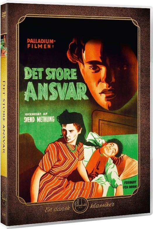 Billede af Det Store Ansvar - 1944 - DVD - Film