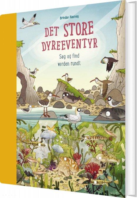 Image of   Det Store Dyreeventyr - Søg Og Find Verden Rundt - Anna Claybourne - Bog