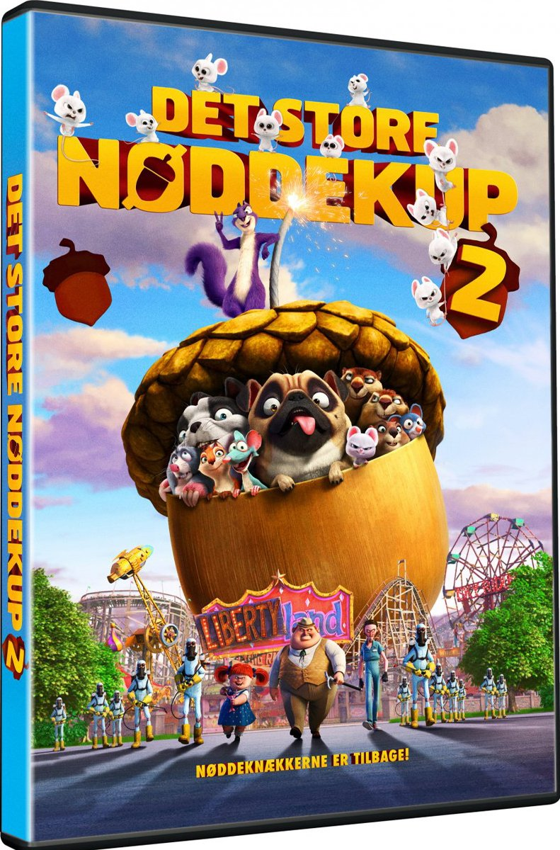 Billede af Det Store Nøddekup 2 - DVD - Film
