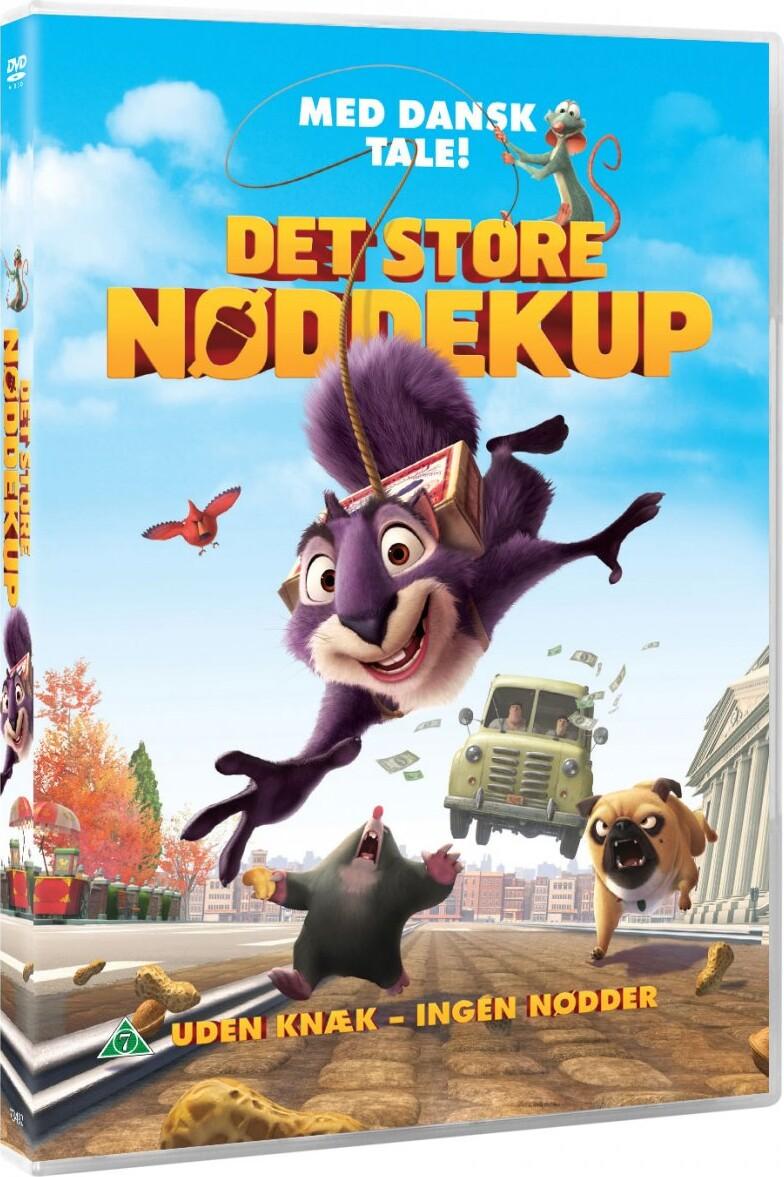 Billede af Det Store Nøddekup / The Nut Job - DVD - Film