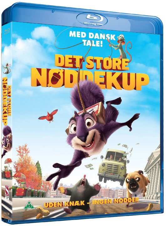 Image of   Det Store Nøddekup / The Nut Job - Blu-Ray