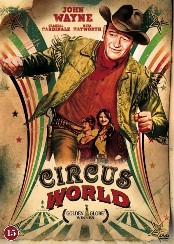 Det Store Wild West Show / Circus World - DVD - Film